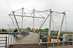 十二町潟水郷公園の橋