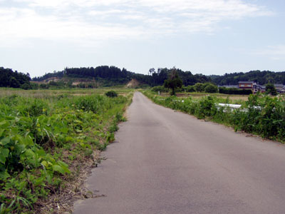 細呂木地区の旧北陸街道