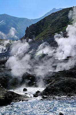 地獄谷の風景