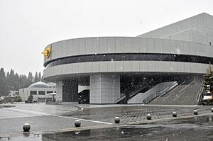 1月2日の正本堂正面