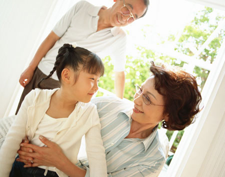 kazoku 仏法知らされ、家族へ感謝